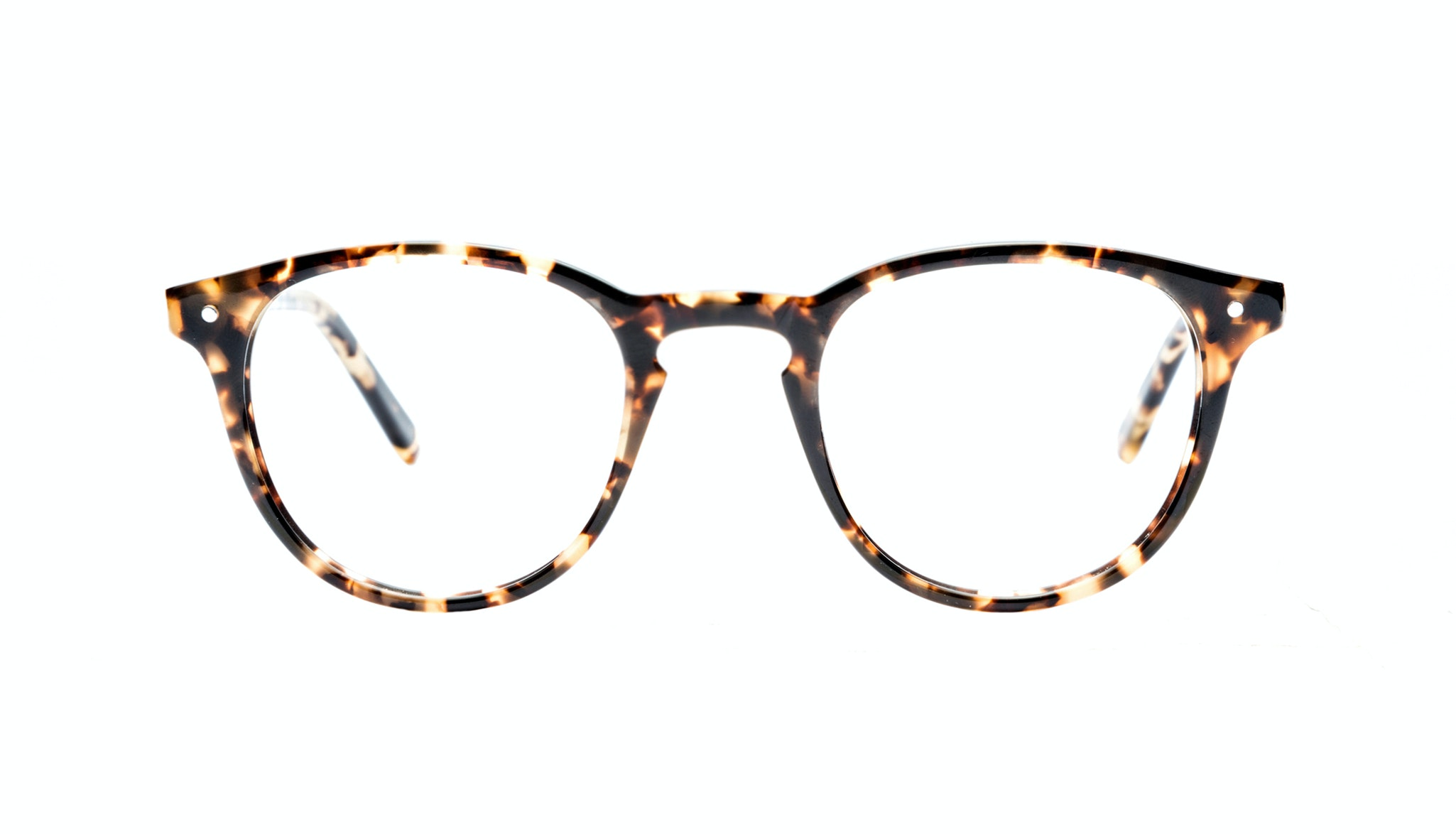 Affordable Fashion Glasses Round Eyeglasses Men Women Cult Dark Tortoise Front