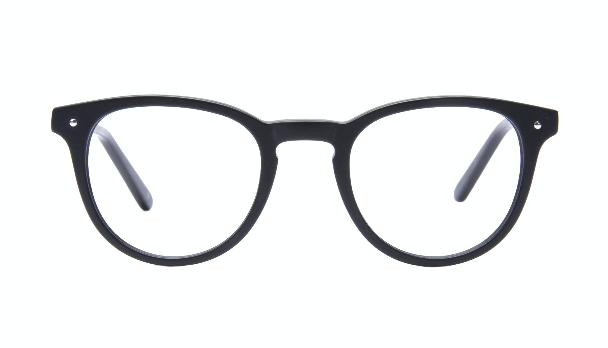 Affordable Fashion Glasses Round Eyeglasses Men Cult Matt Black
