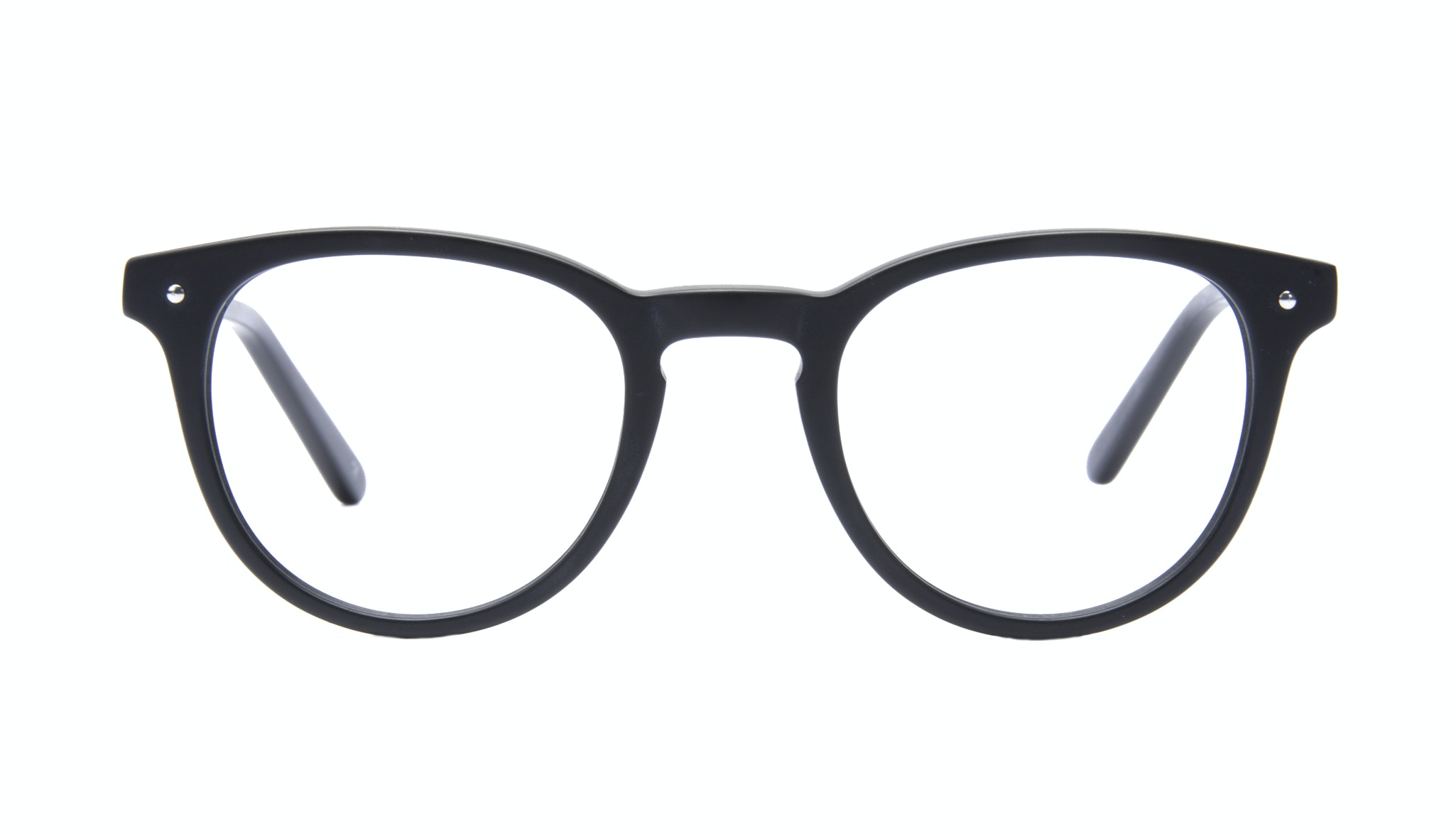 Affordable Fashion Glasses Round Eyeglasses Men Cult Matt Black