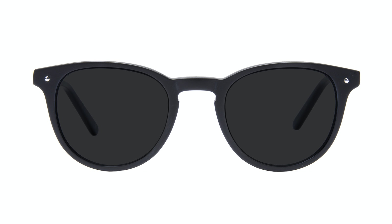 Affordable Fashion Glasses Round Sunglasses Men Cult Matte Black