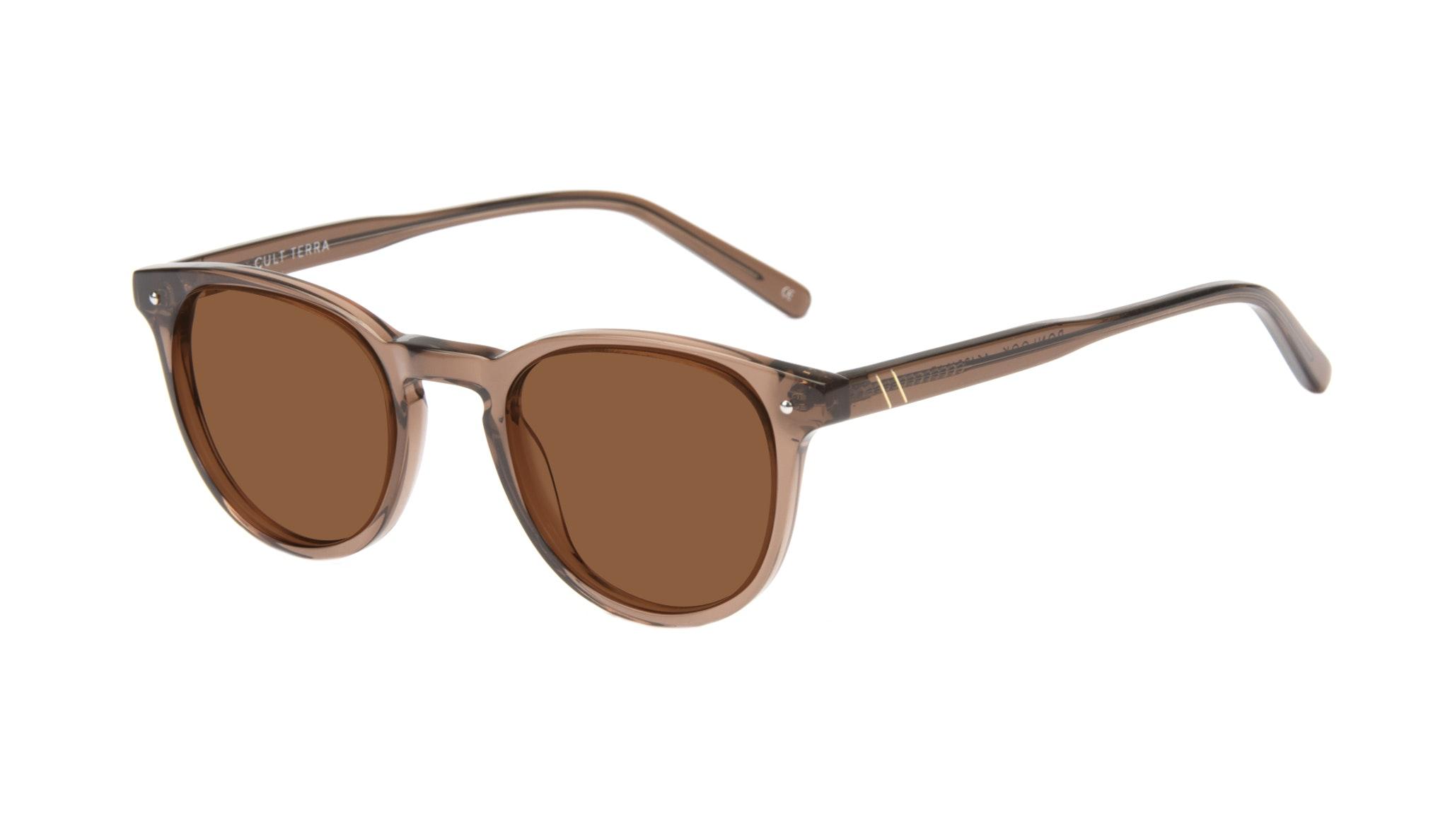 Affordable Fashion Glasses Round Sunglasses Men Cult Terra Tilt