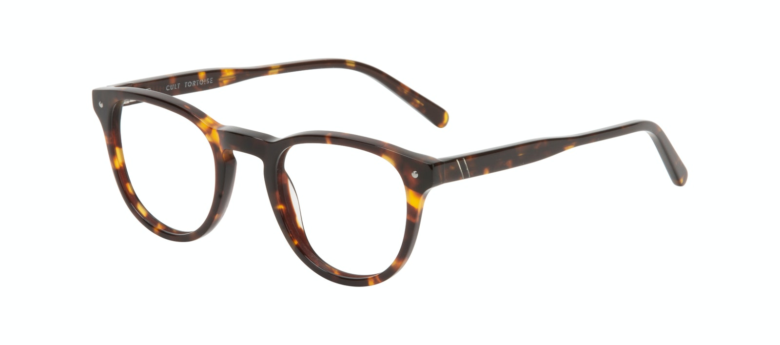 Affordable Fashion Glasses Round Eyeglasses Men Cult Tortoise Tilt