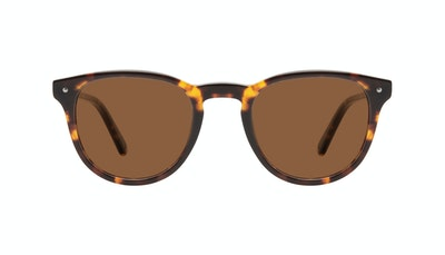 Affordable Fashion Glasses Round Sunglasses Men Cult Tortoise Front