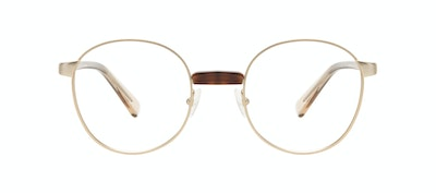 Affordable Fashion Glasses Round Eyeglasses Women Curious Gold Front