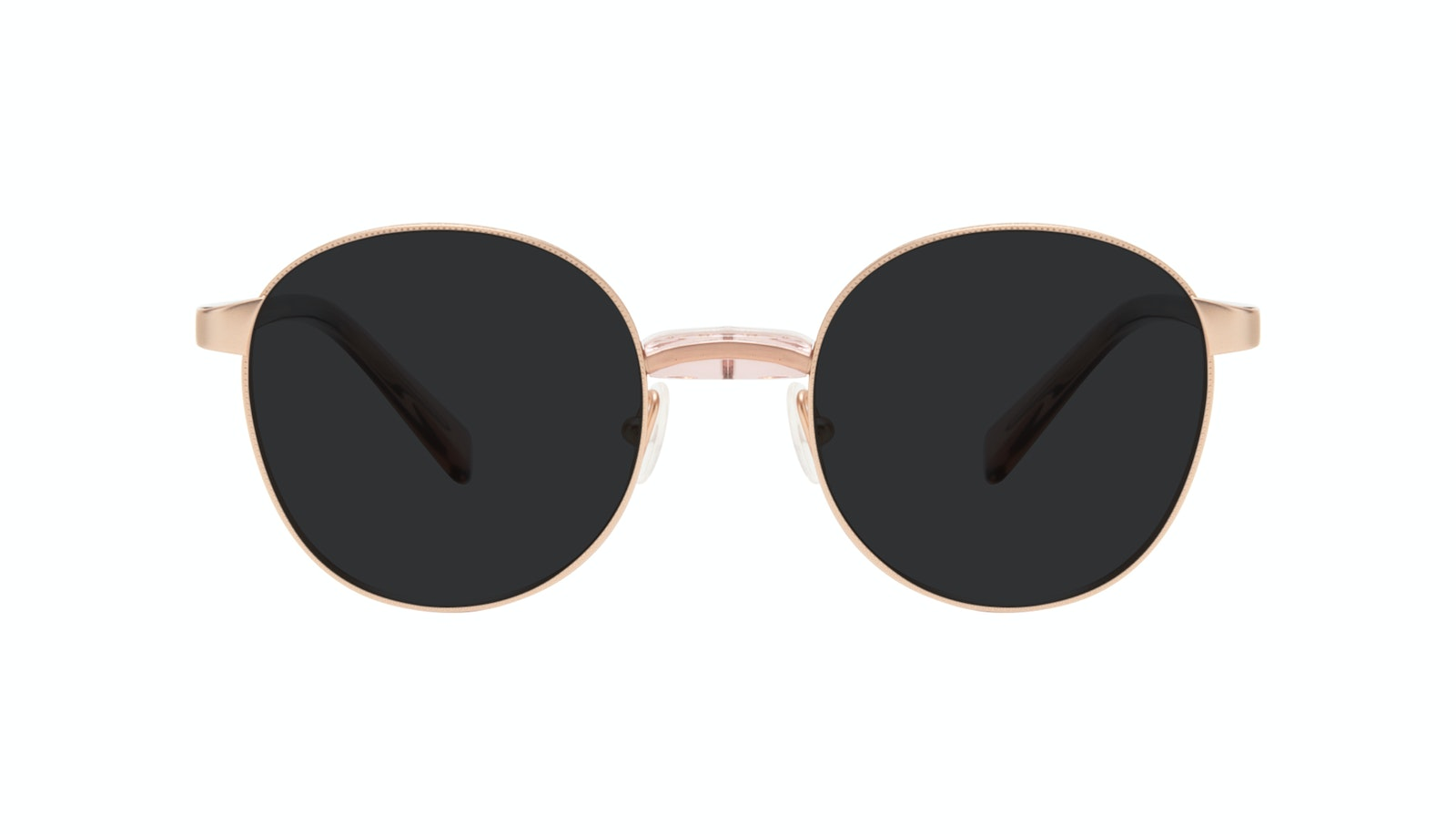 Affordable Fashion Glasses Round Sunglasses Women Curious Rose