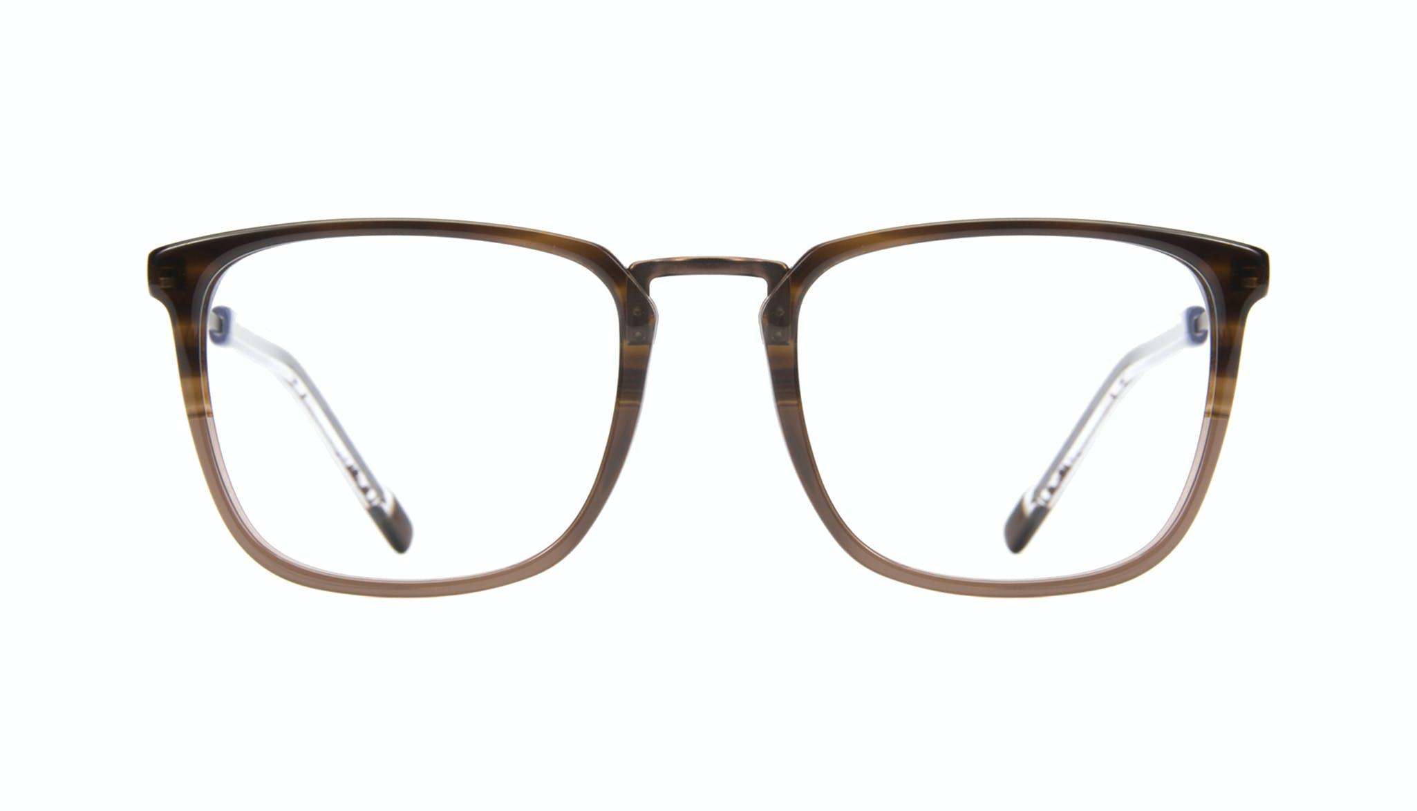 Affordable Fashion Glasses Rectangle Square Eyeglasses Men Current Mud Front
