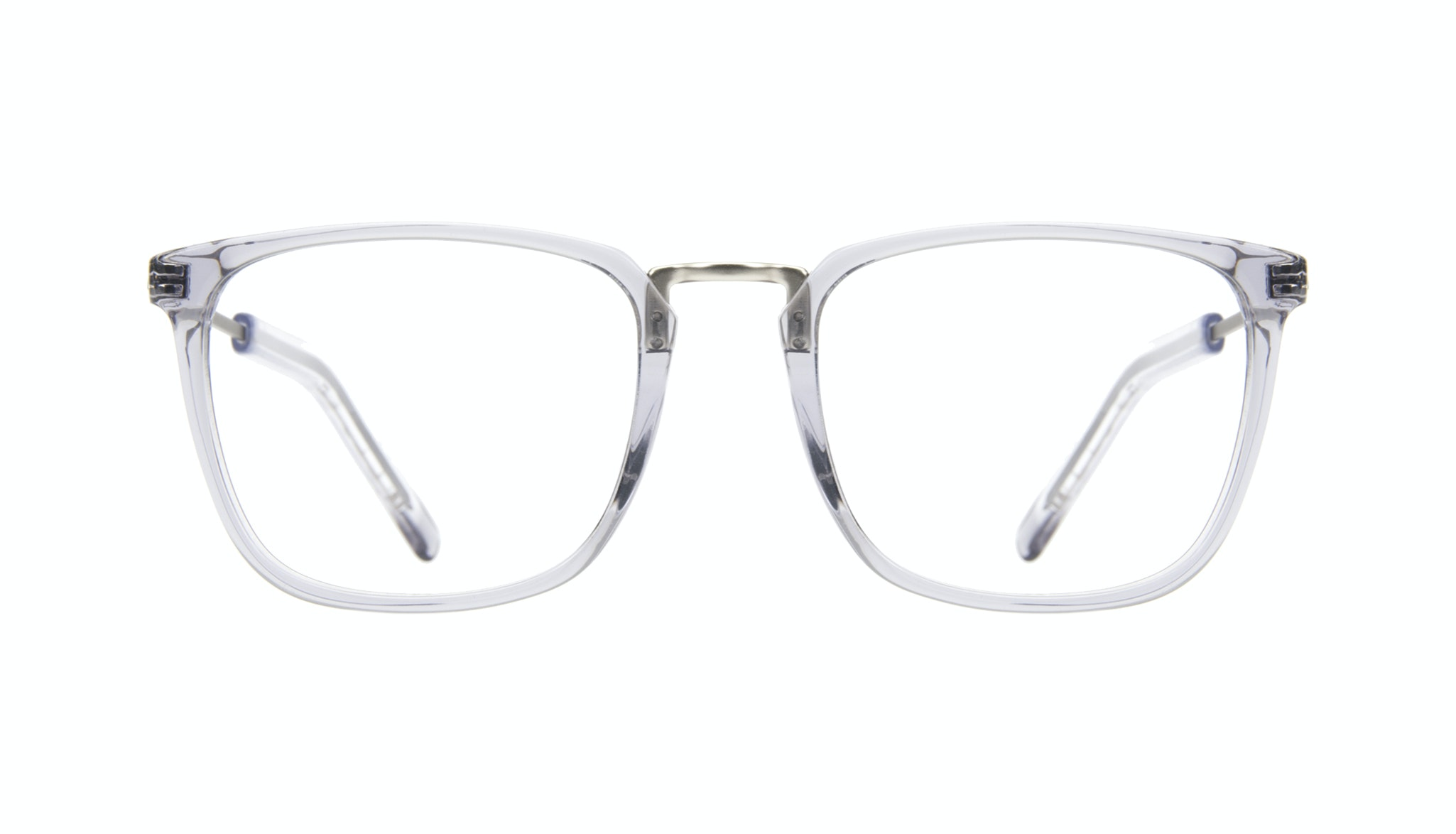 Affordable Fashion Glasses Rectangle Square Eyeglasses Men Current Steel