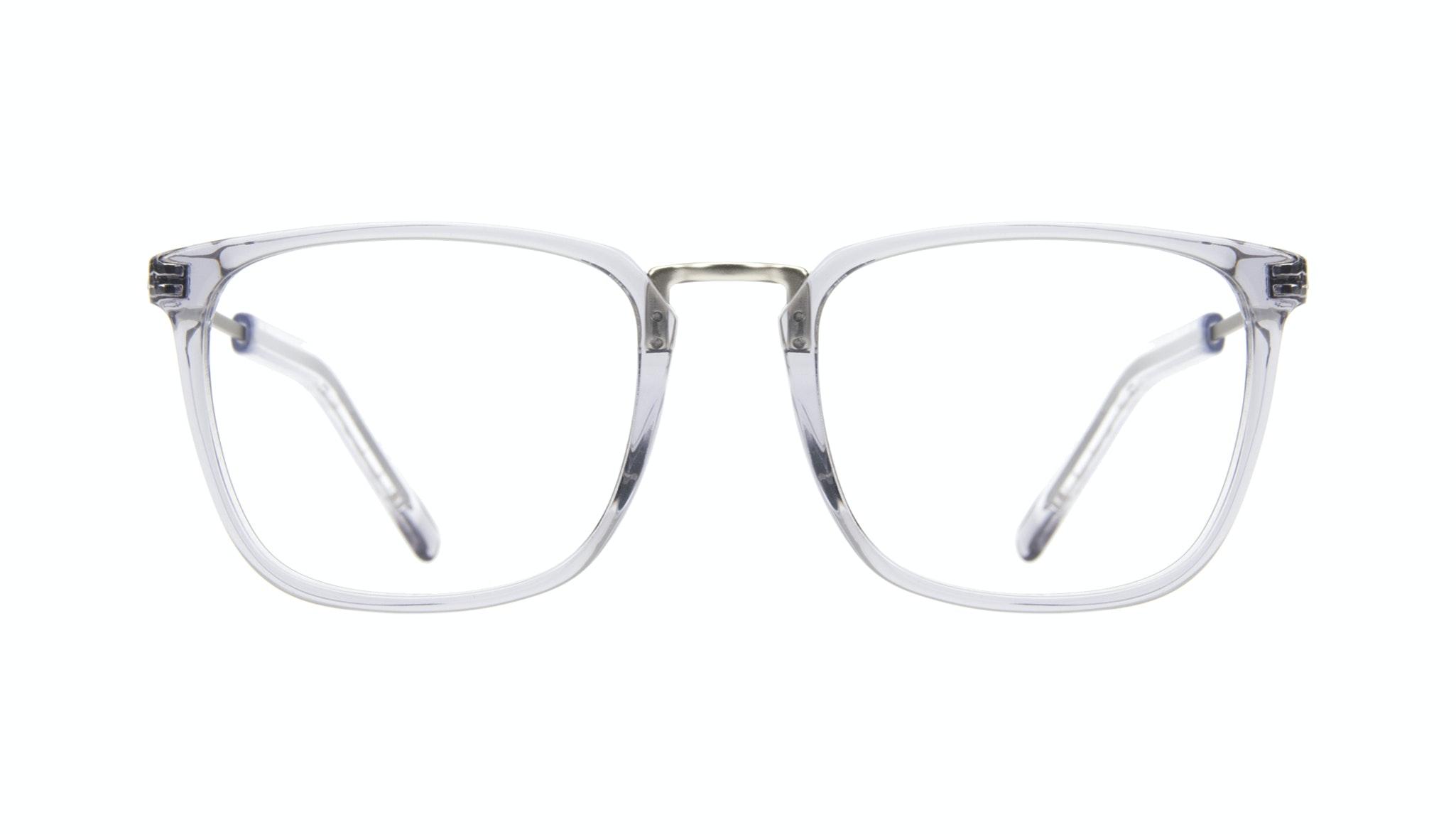 Affordable Fashion Glasses Rectangle Square Eyeglasses Men Current Steel