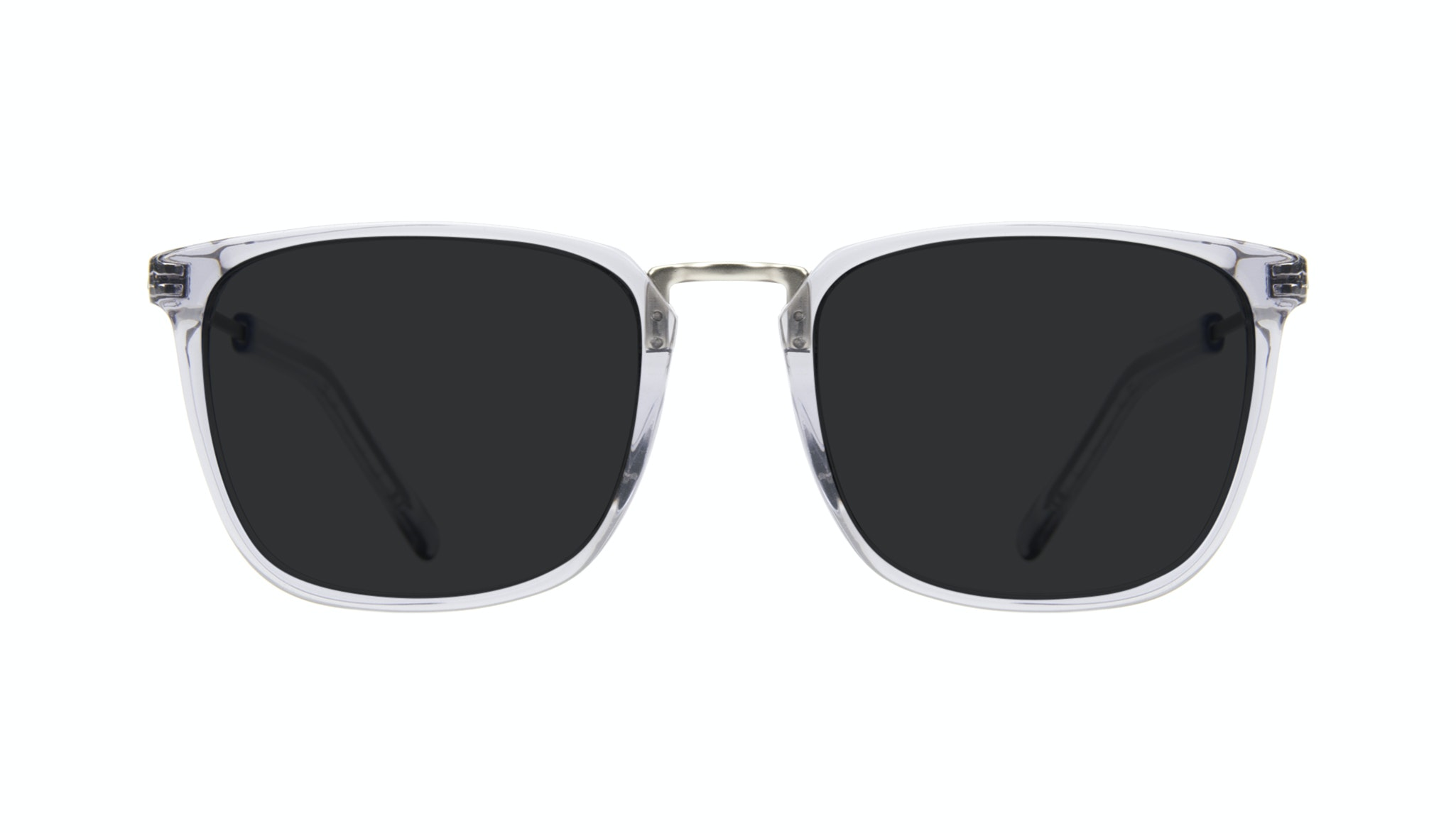 Affordable Fashion Glasses Rectangle Square Sunglasses Men Current Steel