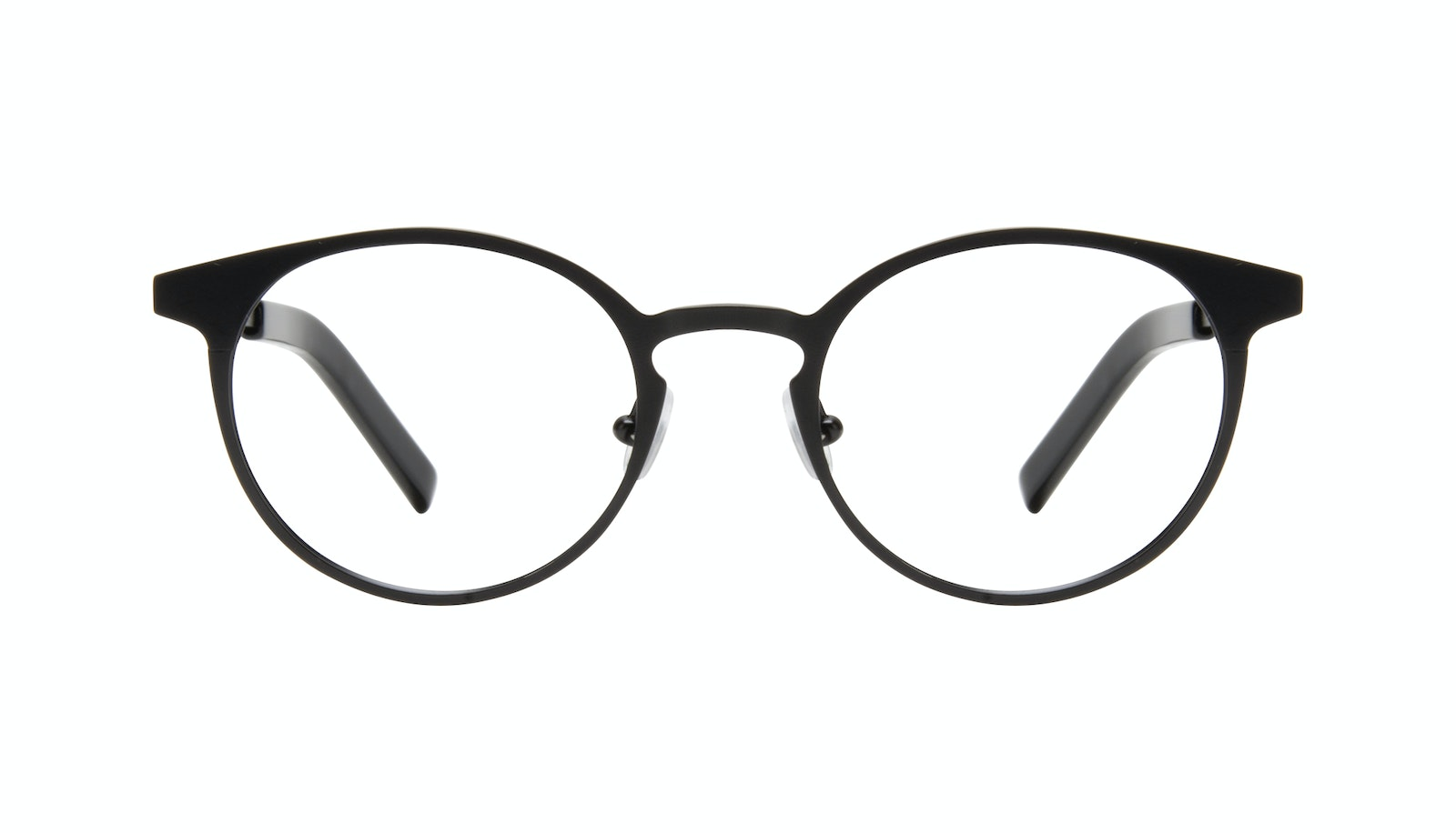 Affordable Fashion Glasses Round Eyeglasses Men Cut Onyx Matte