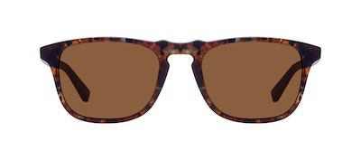 Affordable Fashion Glasses Rectangle Sunglasses Men Dare Mahogany Front