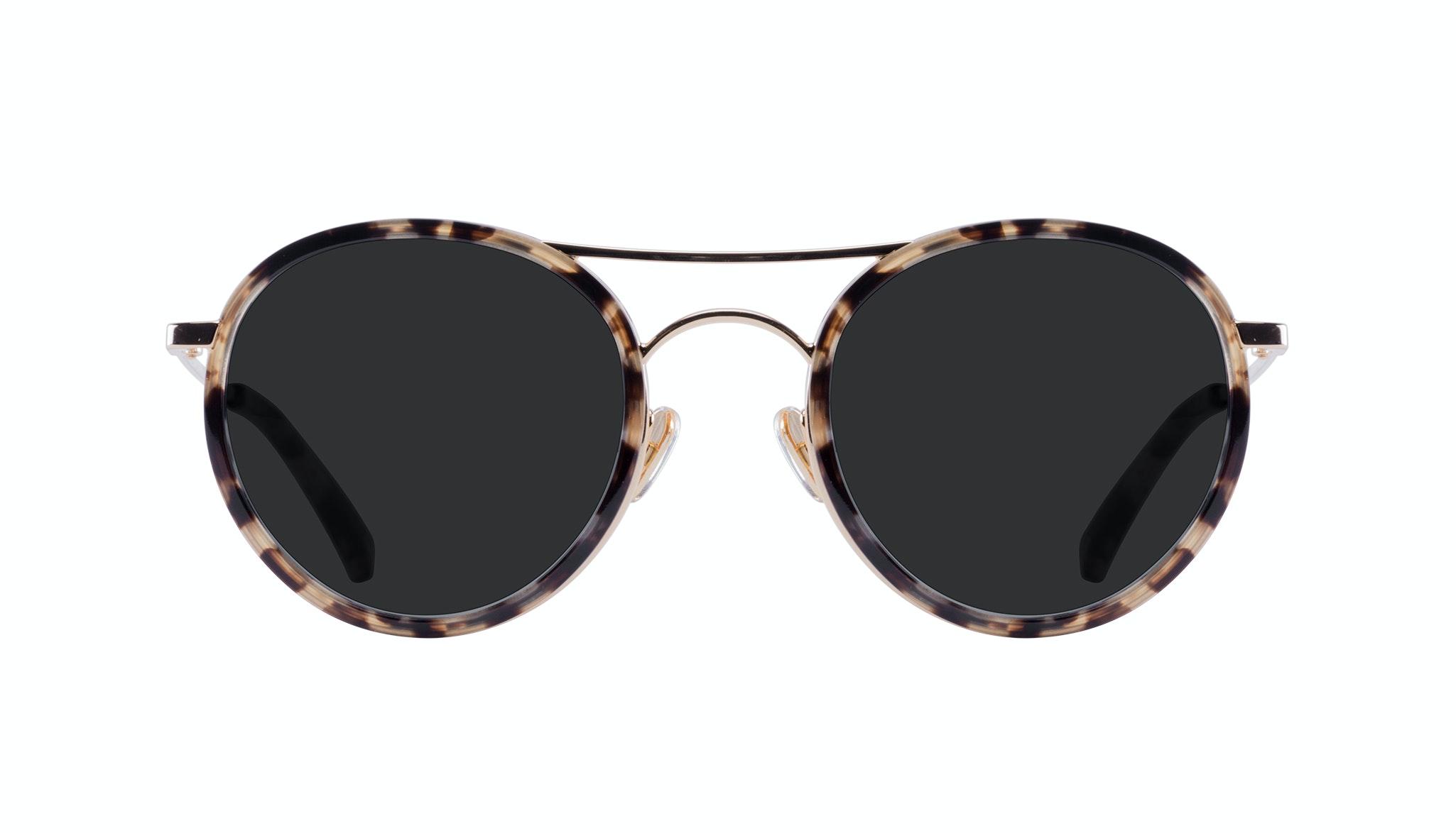 Affordable Fashion Glasses Aviator Round Sunglasses Women Dawn Tortoise