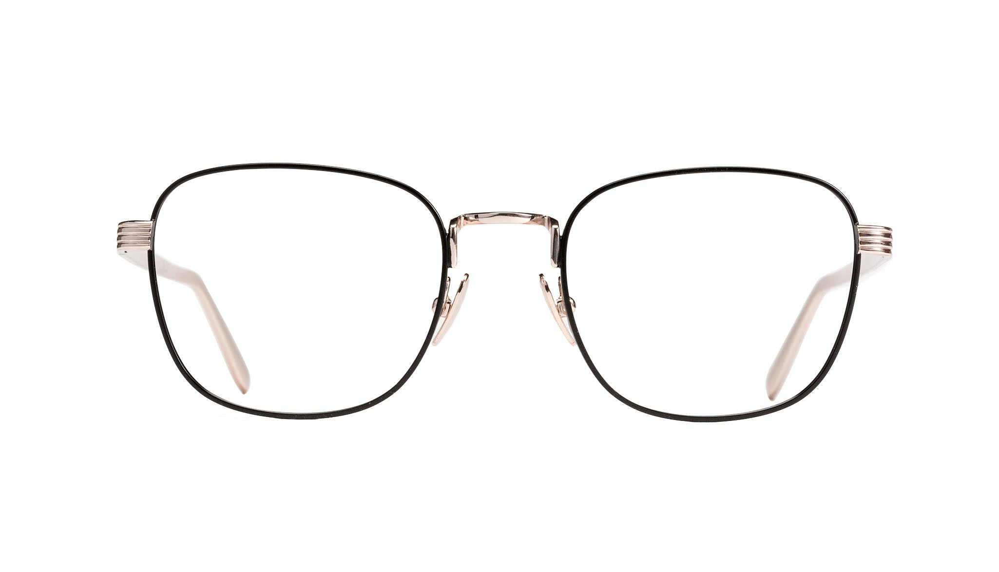 Affordable Fashion Glasses Rectangle Eyeglasses Women Delight Deep Gold