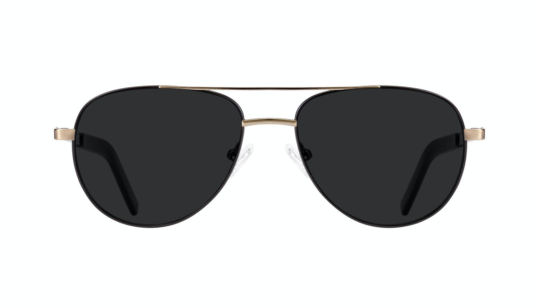 Affordable Fashion Glasses Aviator Sunglasses Men Devoted Deep Gold Front