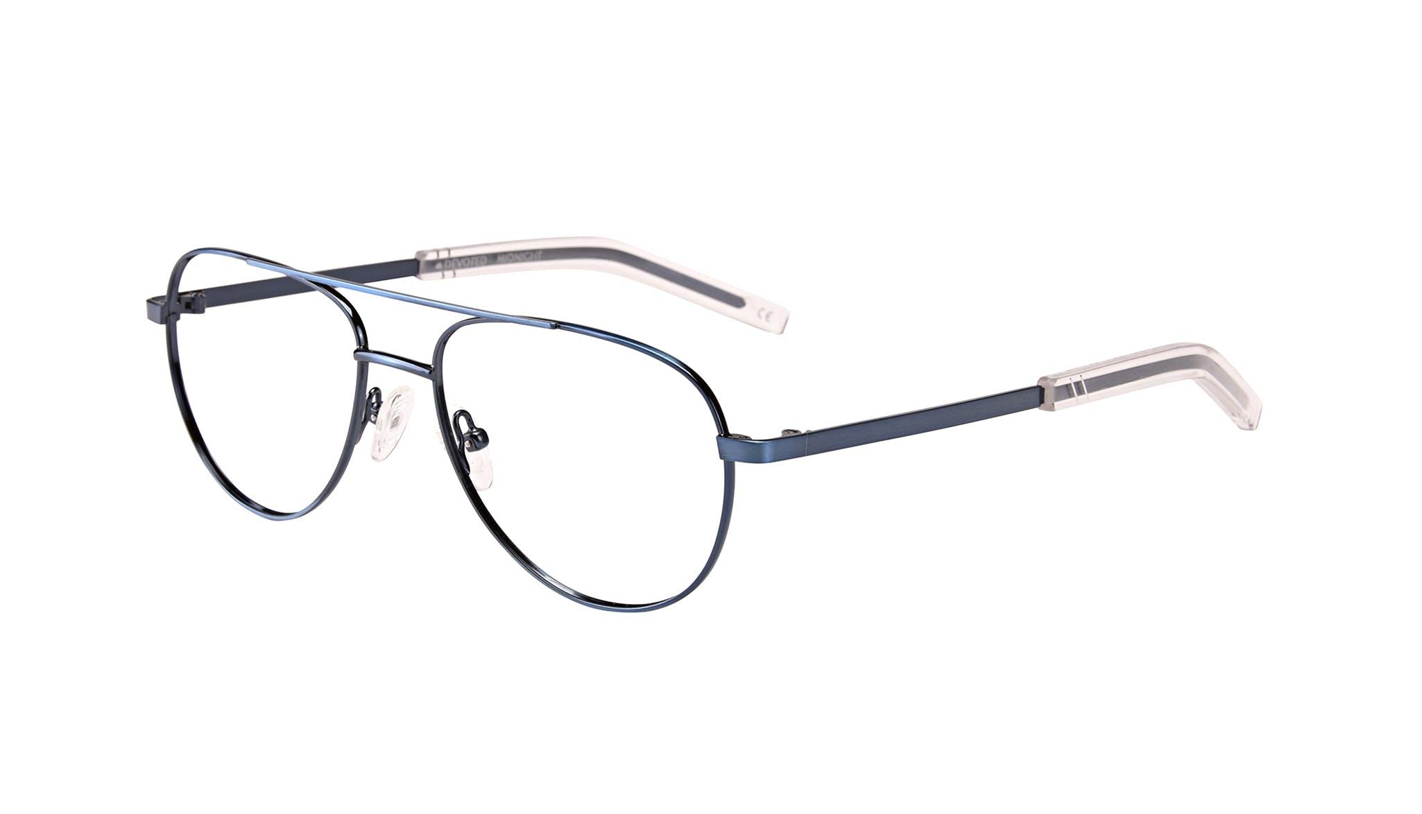 Affordable Fashion Glasses Aviator Eyeglasses Men Devoted Midnight Tilt
