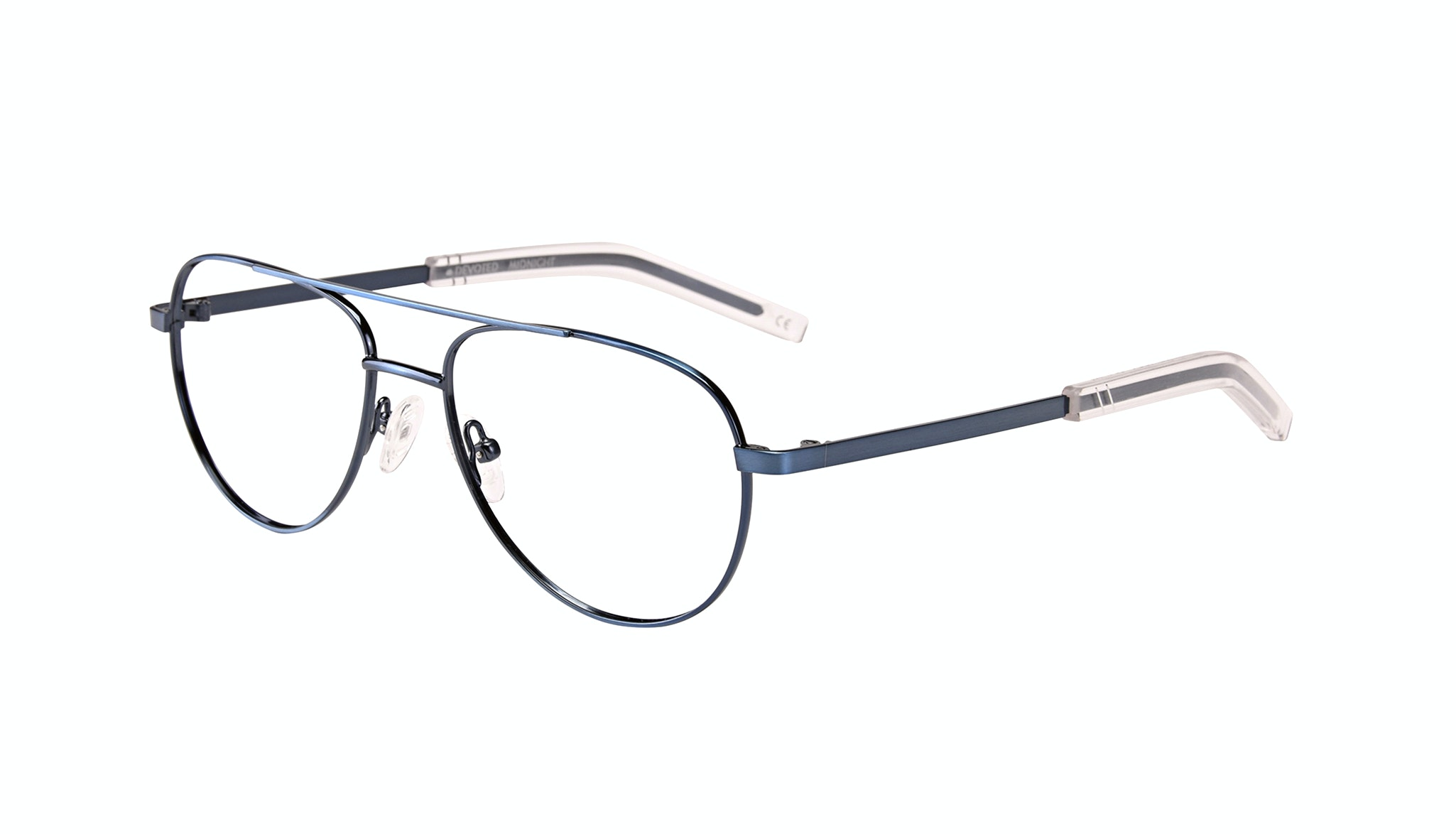 Affordable Fashion Glasses Aviator Eyeglasses Men Devoted Midnight Tilt