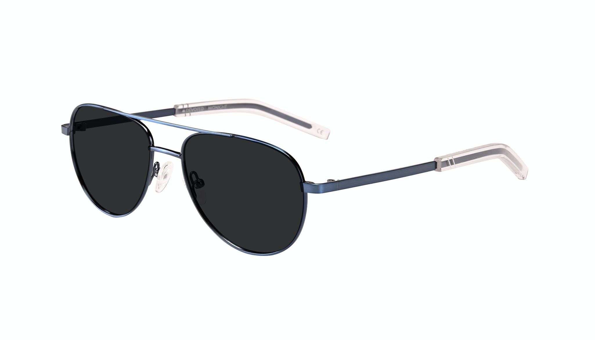 Affordable Fashion Glasses Aviator Sunglasses Men Devoted Midnight Tilt