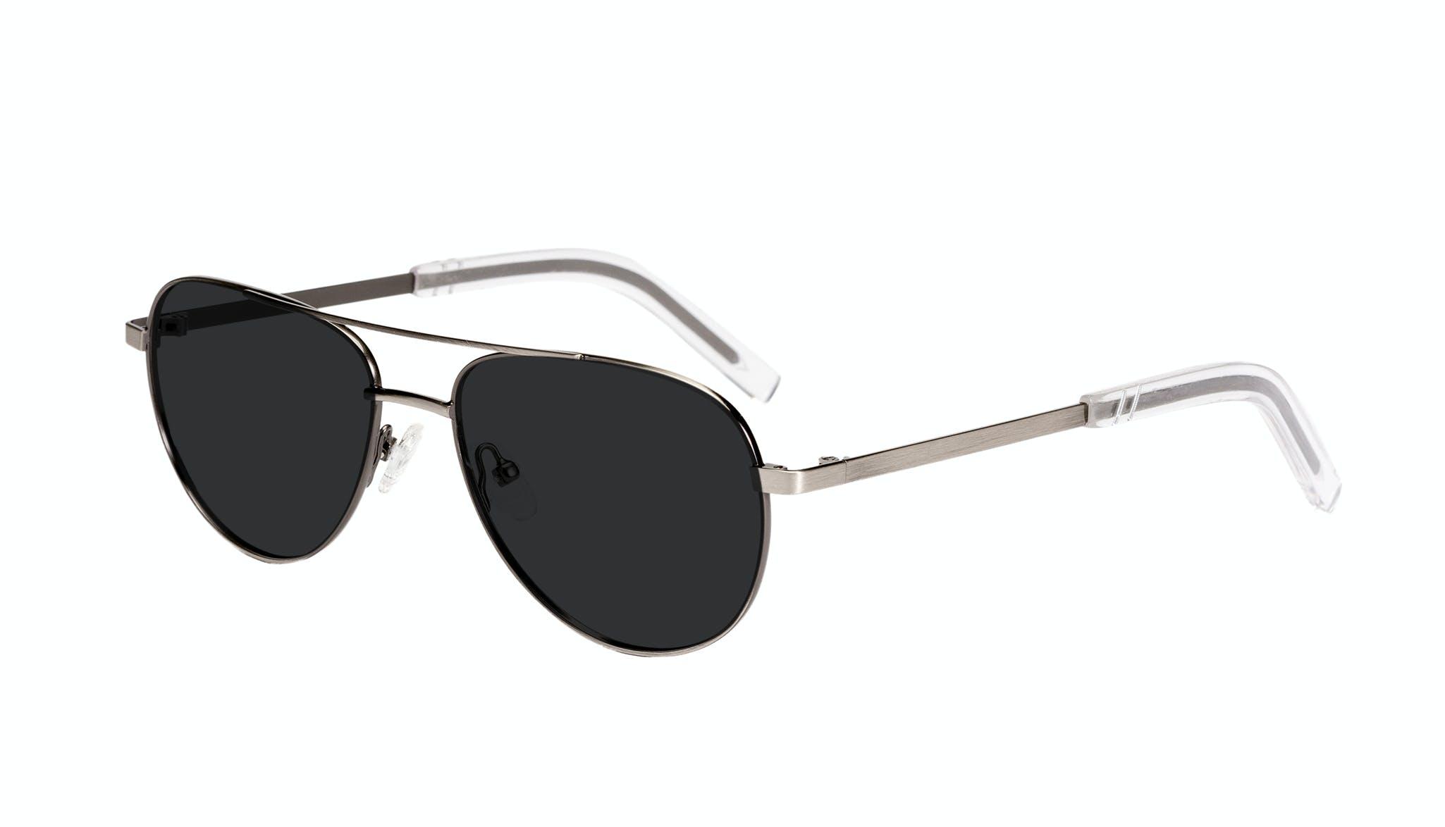 Affordable Fashion Glasses Aviator Sunglasses Men Devoted Silver Tilt