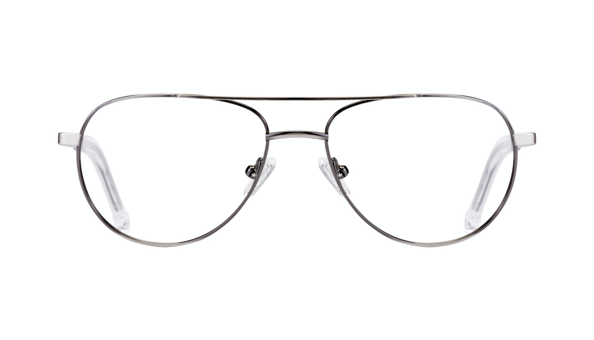 Affordable Fashion Glasses Aviator Eyeglasses Men Devoted Silver