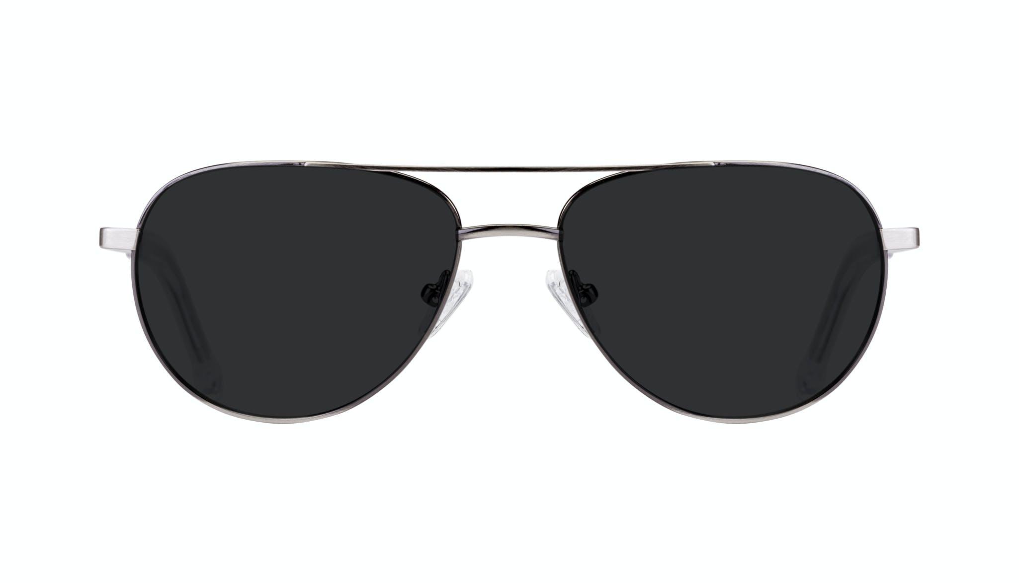 Affordable Fashion Glasses Aviator Sunglasses Men Devoted Silver Front