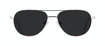 Affordable Fashion Glasses Aviator Sunglasses Men Devoted Silver Front