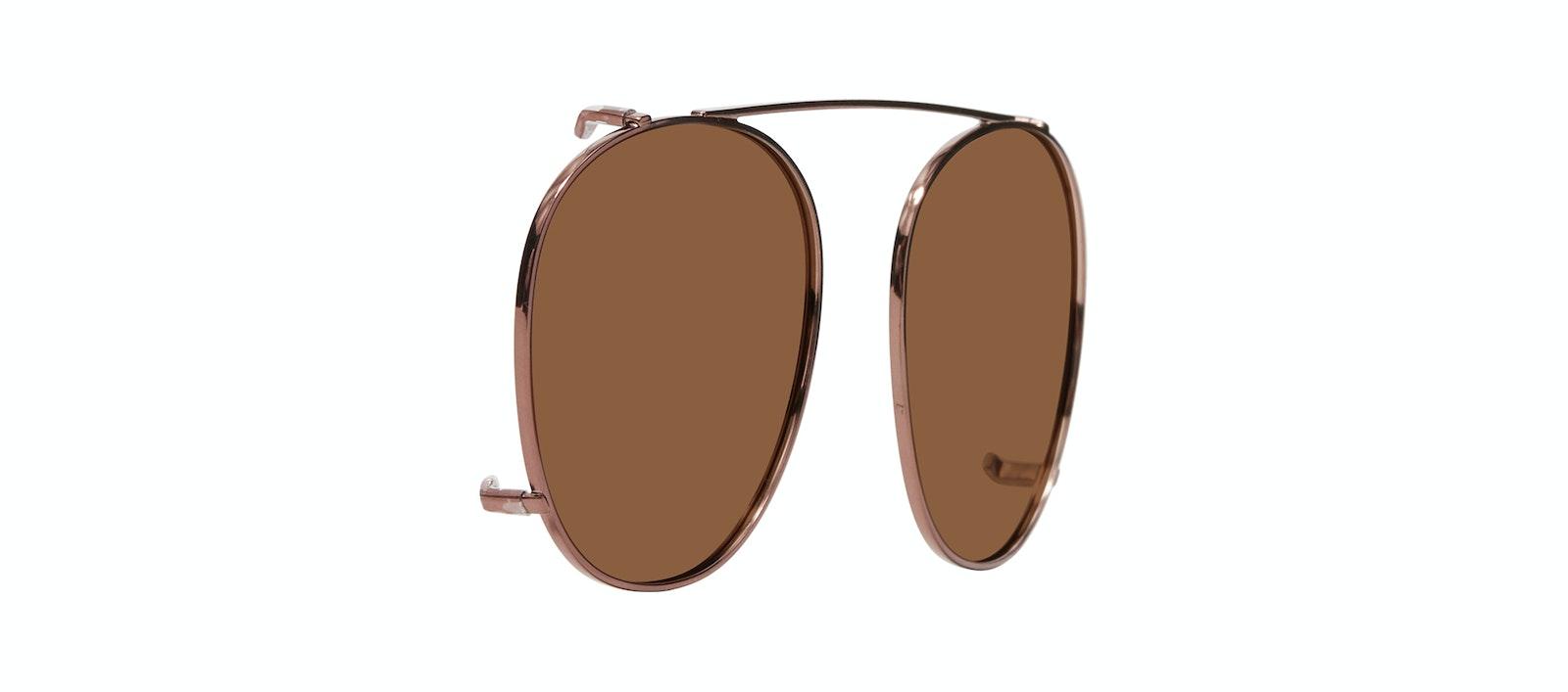 Affordable Fashion Glasses Accessory Men Women Divine Clip L Copper Tilt