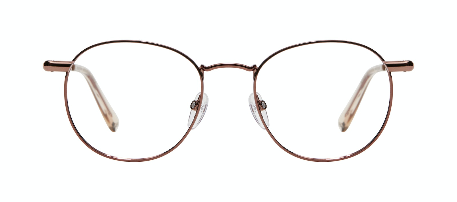 Affordable Fashion Glasses Round Eyeglasses Women Divine L Copper Front