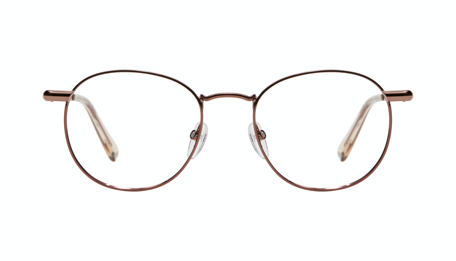 Affordable Fashion Glasses Round Eyeglasses Women Divine L Copper