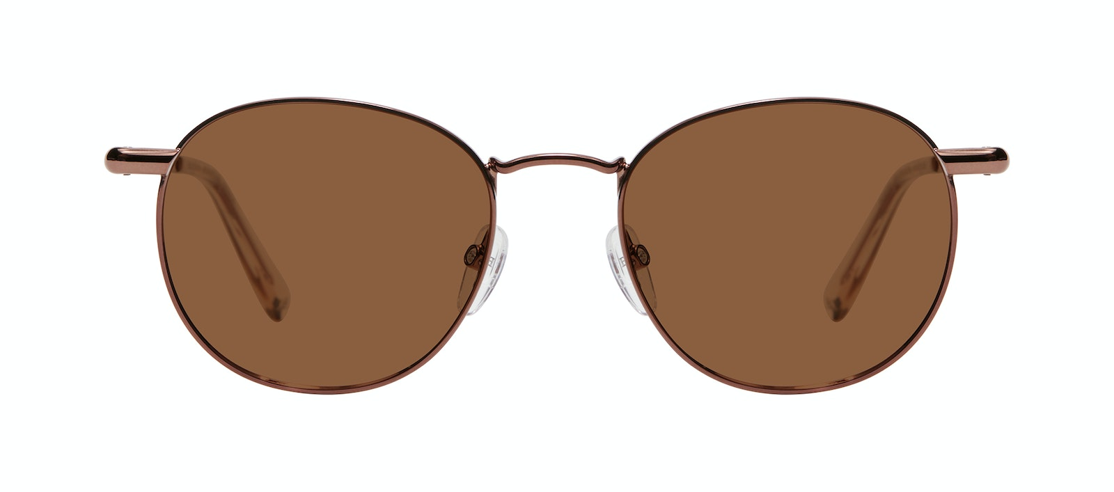 Affordable Fashion Glasses Round Sunglasses Women Divine L Copper Front