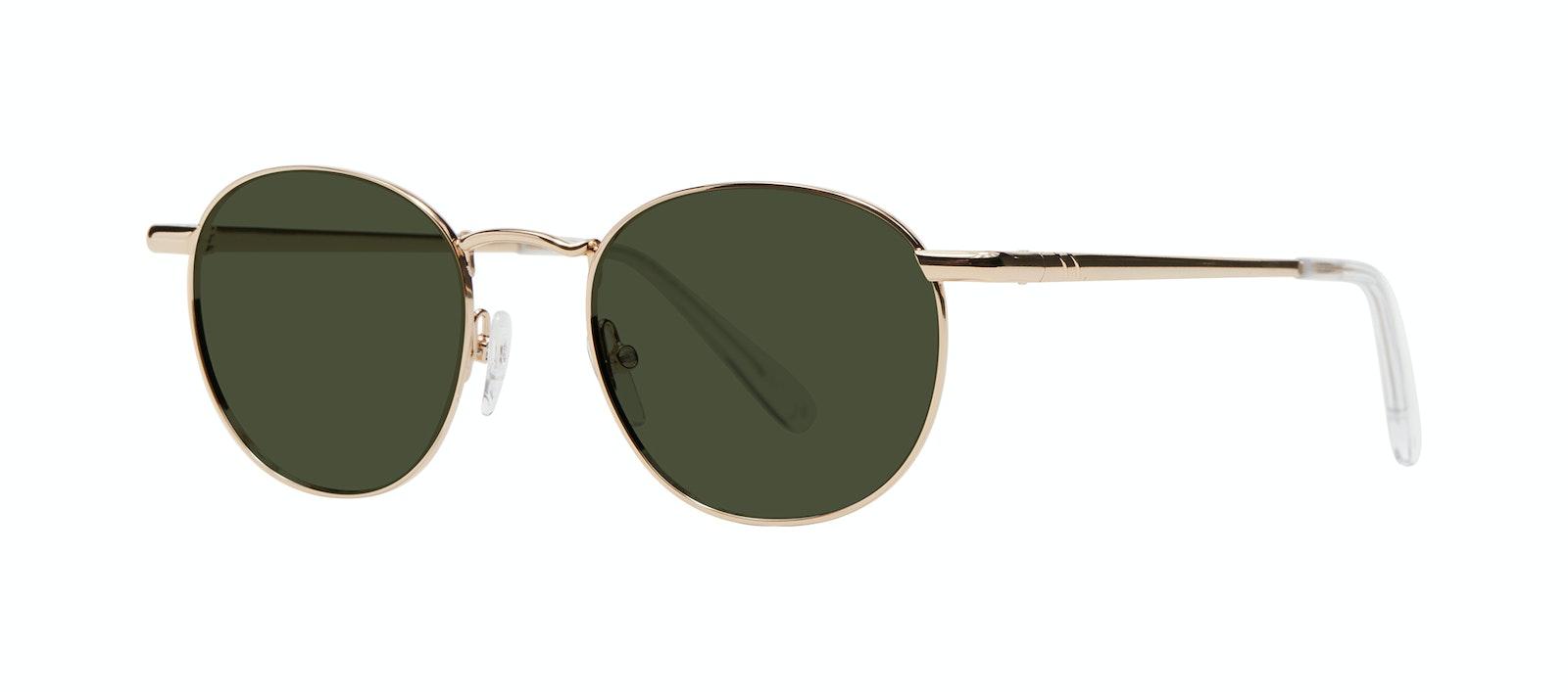 Affordable Fashion Glasses Round Sunglasses Women Divine L Gold Tilt