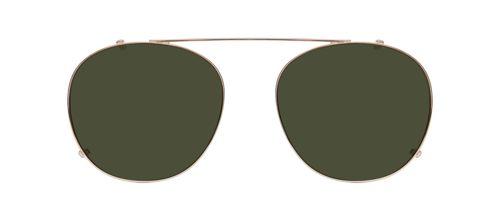 Affordable Fashion Glasses Accessory Men Women Divine Clip L Gold Front