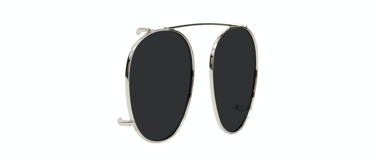 Affordable Fashion Glasses Accessory Women Divine Clip L Silver Tilt