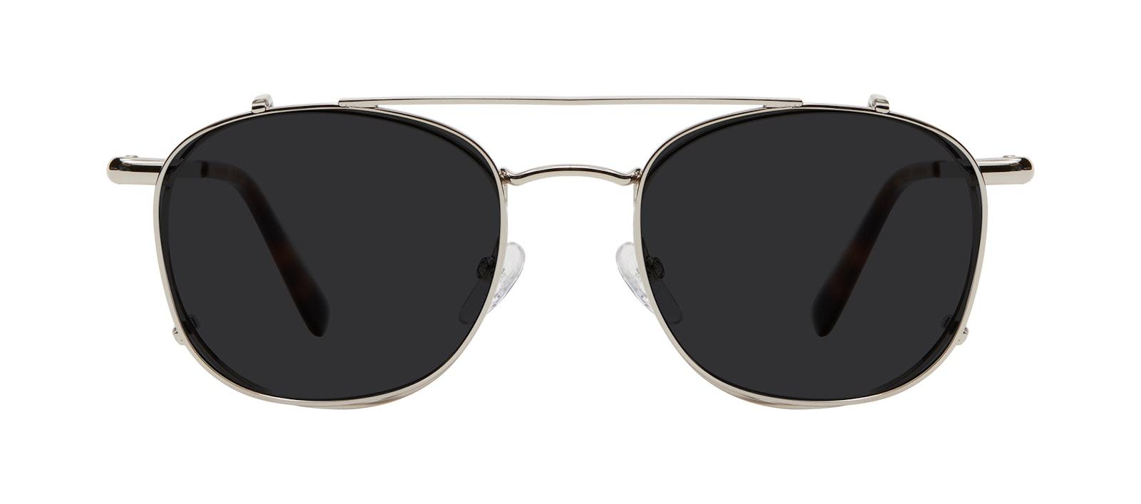 Affordable Fashion Glasses Accessory Women Divine Clip L Silver Side