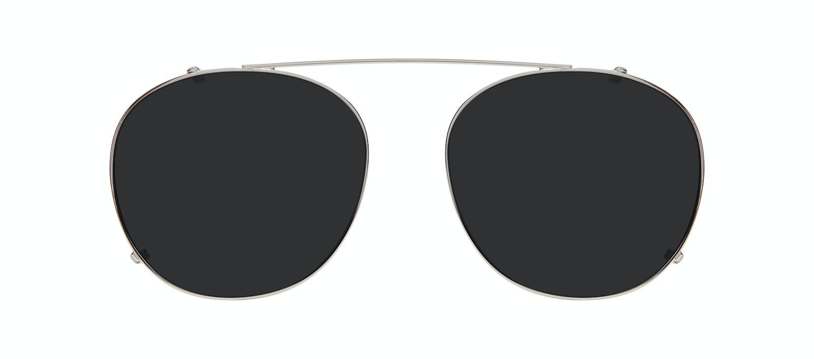 Affordable Fashion Glasses Accessory Women Divine Clip L Silver Front