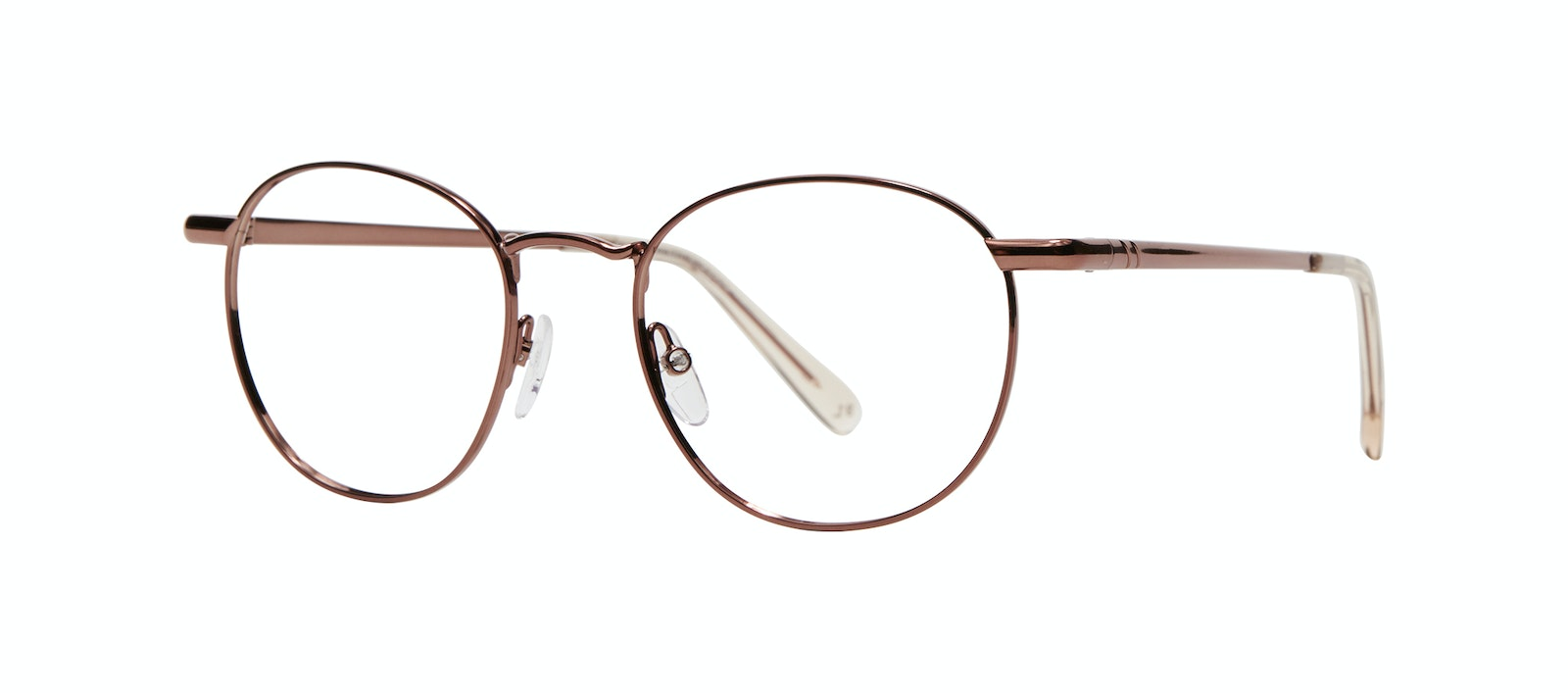 Affordable Fashion Glasses Round Eyeglasses Men Women Divine M Copper Tilt