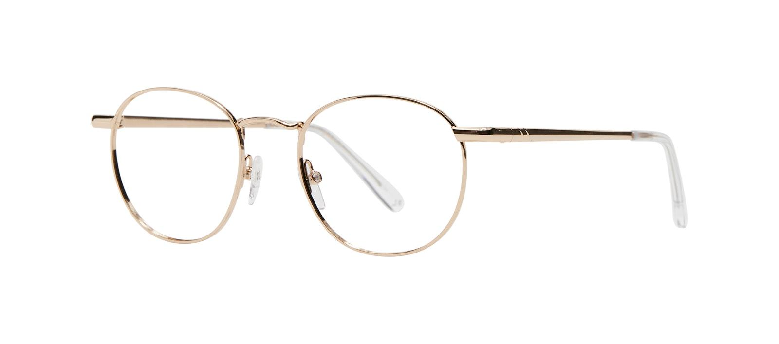 Affordable Fashion Glasses Round Eyeglasses Women Divine M Gold Tilt