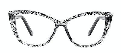 Affordable Fashion Glasses Cat Eye Daring Cateye Eyeglasses Women Dolled Up Black Lace Front