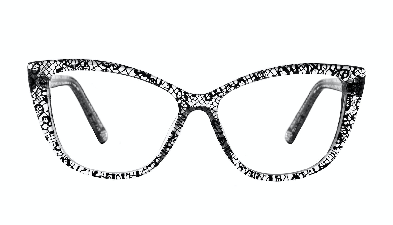 Affordable Fashion Glasses Cat Eye Daring Cateye Eyeglasses Women Dolled Up Black Lace