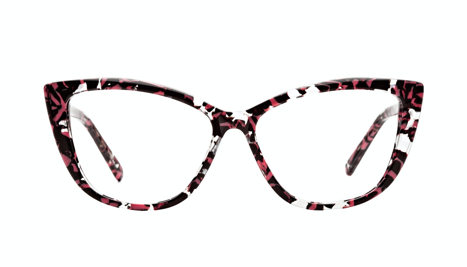 Affordable Fashion Glasses Cat Eye Daring Cateye Eyeglasses Women Dolled Up Surprise Coral