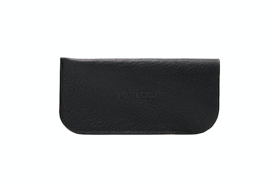 Affordable Fashion Glasses Accessory Women Sleeve Case  Black Front