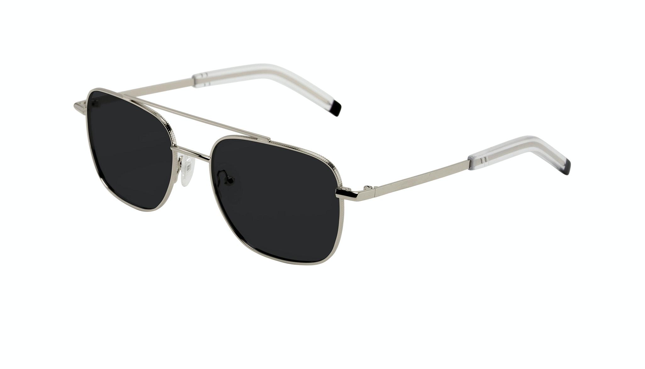 Affordable Fashion Glasses Aviator Sunglasses Men Drift Silver Tilt
