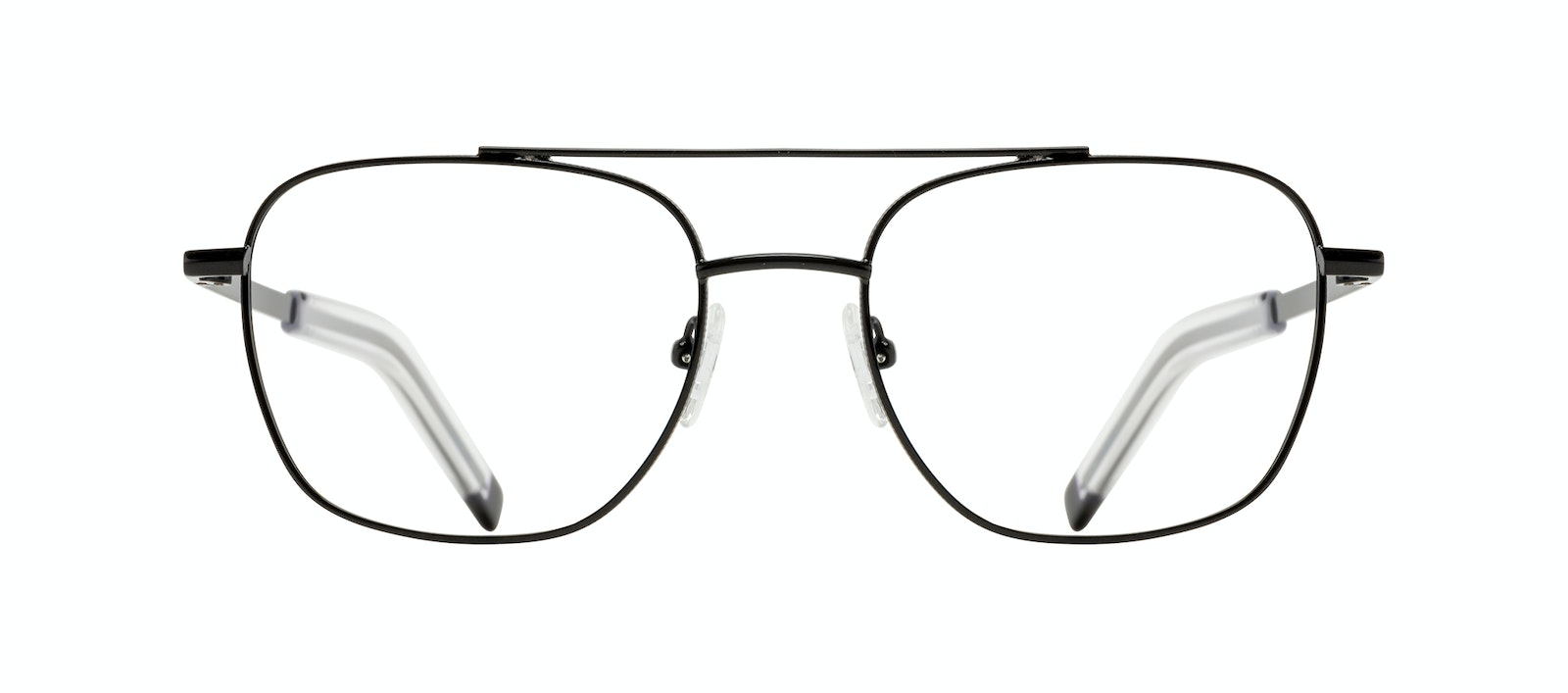 Affordable Fashion Glasses Aviator Eyeglasses Men Drift Black Front