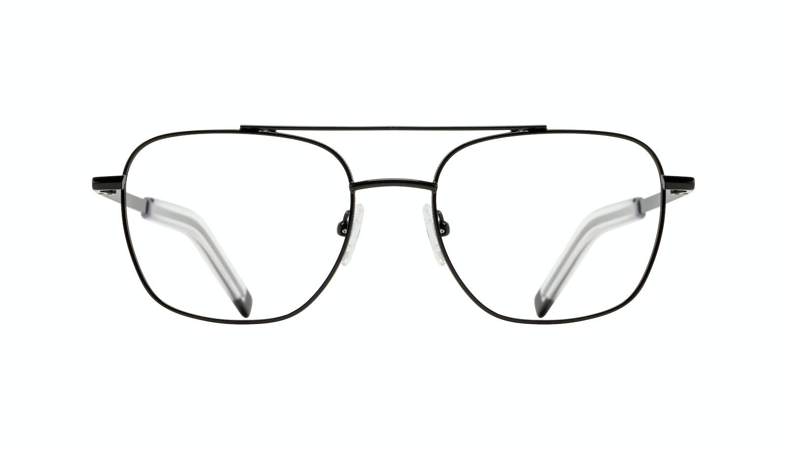 Affordable Fashion Glasses Aviator Eyeglasses Men Drift Black