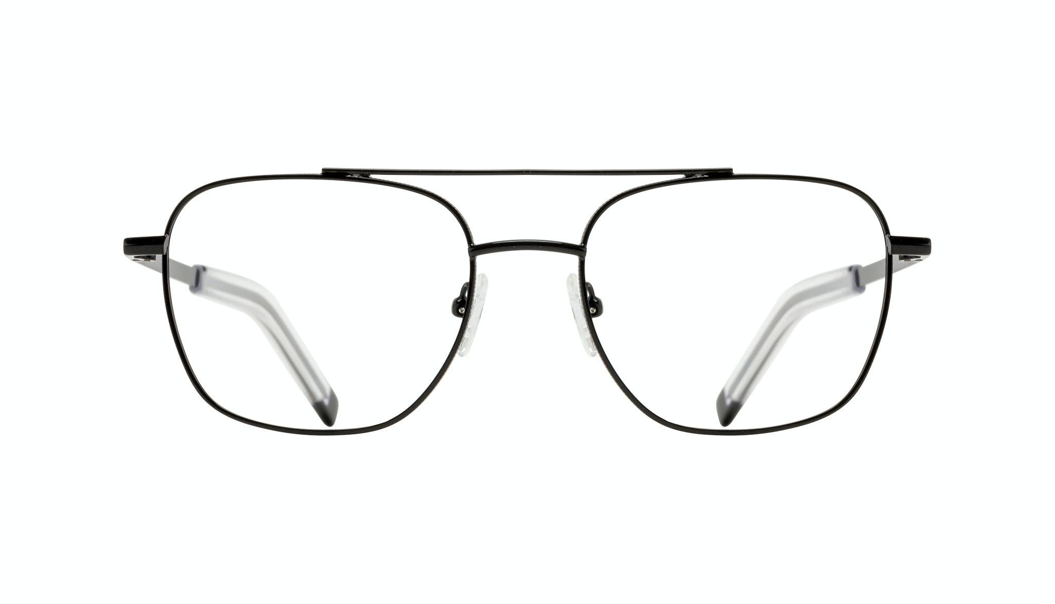 Affordable Fashion Glasses Aviator Eyeglasses Men Drift Black Front
