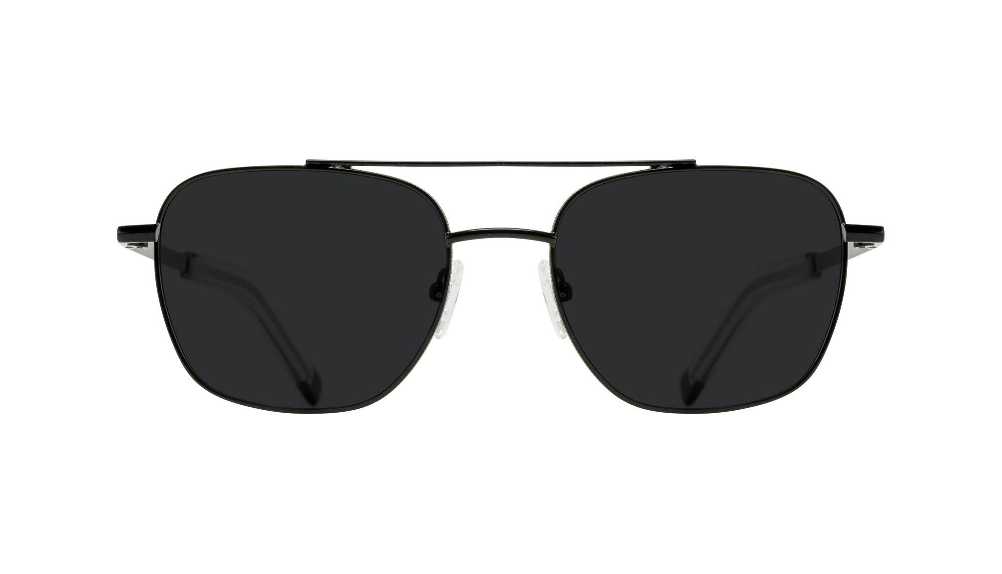 Affordable Fashion Glasses Aviator Sunglasses Men Drift Black Front