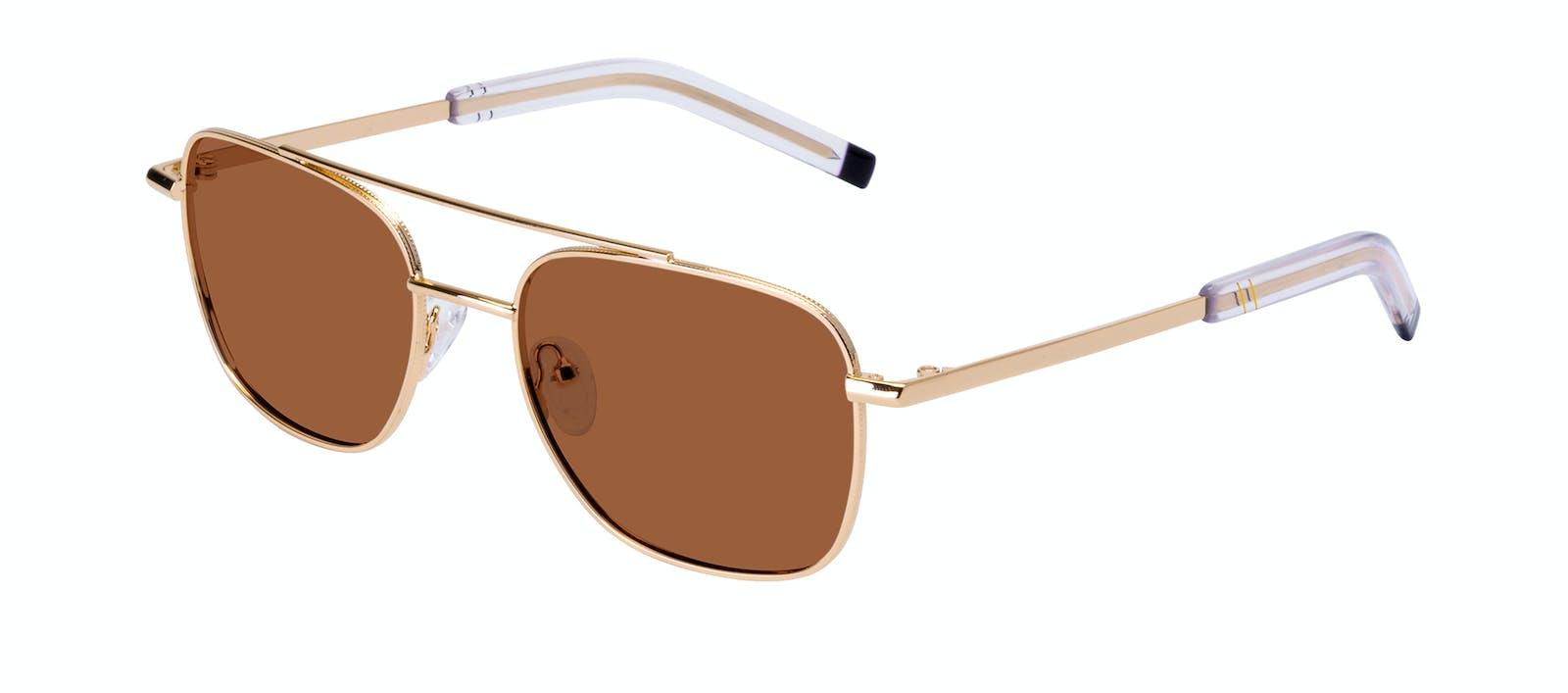 d24909b37f Affordable Fashion Glasses Aviator Sunglasses Men Drift Gold Tilt