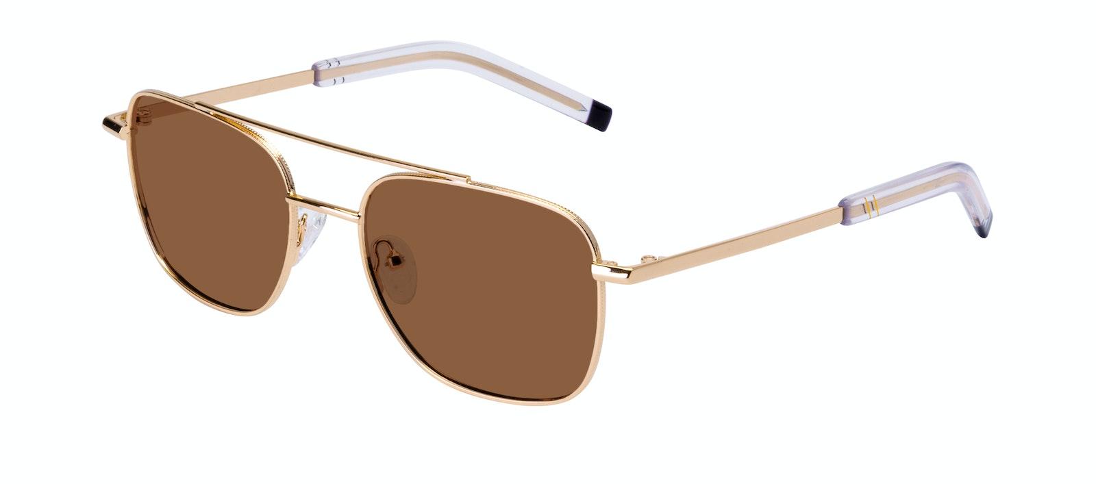 Affordable Fashion Glasses Aviator Sunglasses Men Drift Gold Tilt