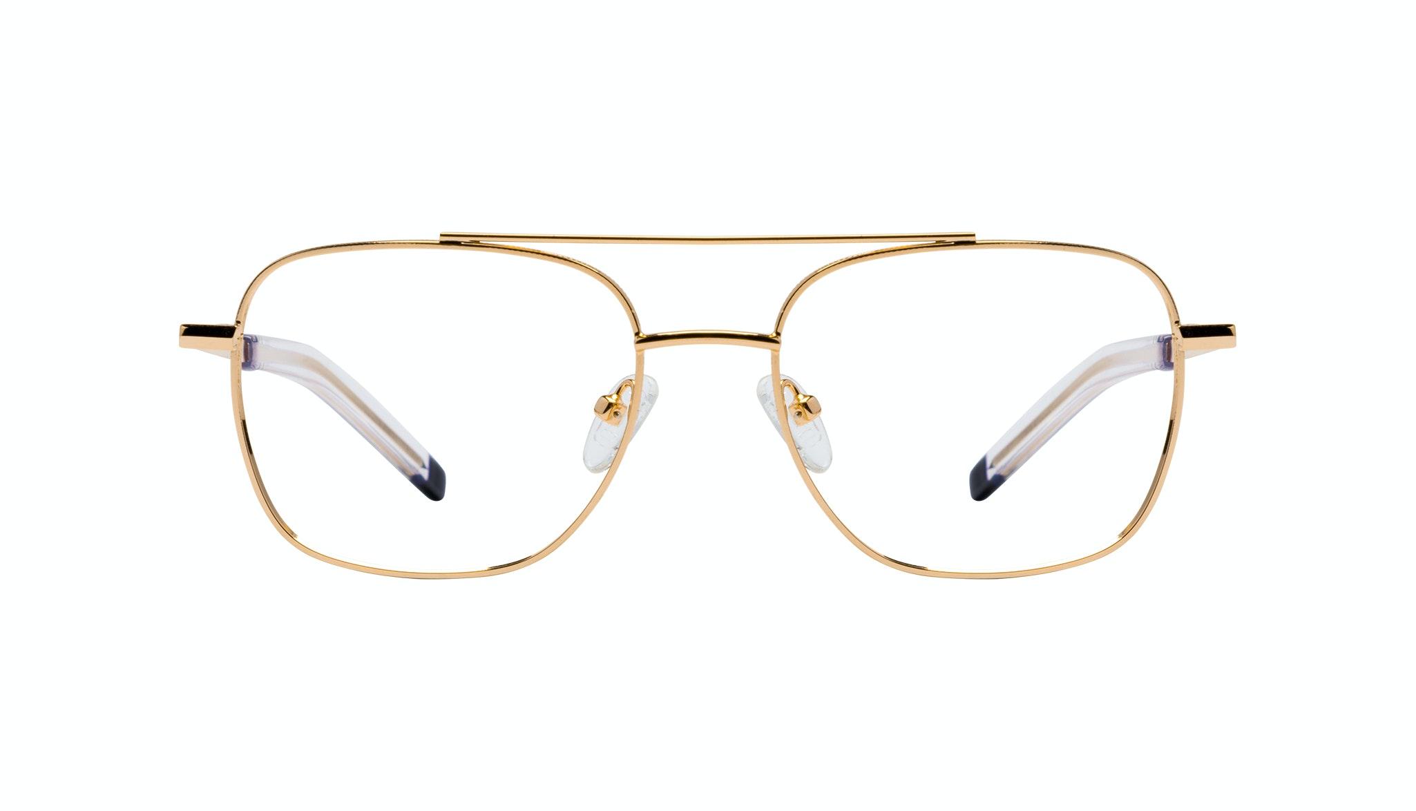 Lunettes tendance Lunettes aviateur Lunettes de vue Hommes Drift Gold Face