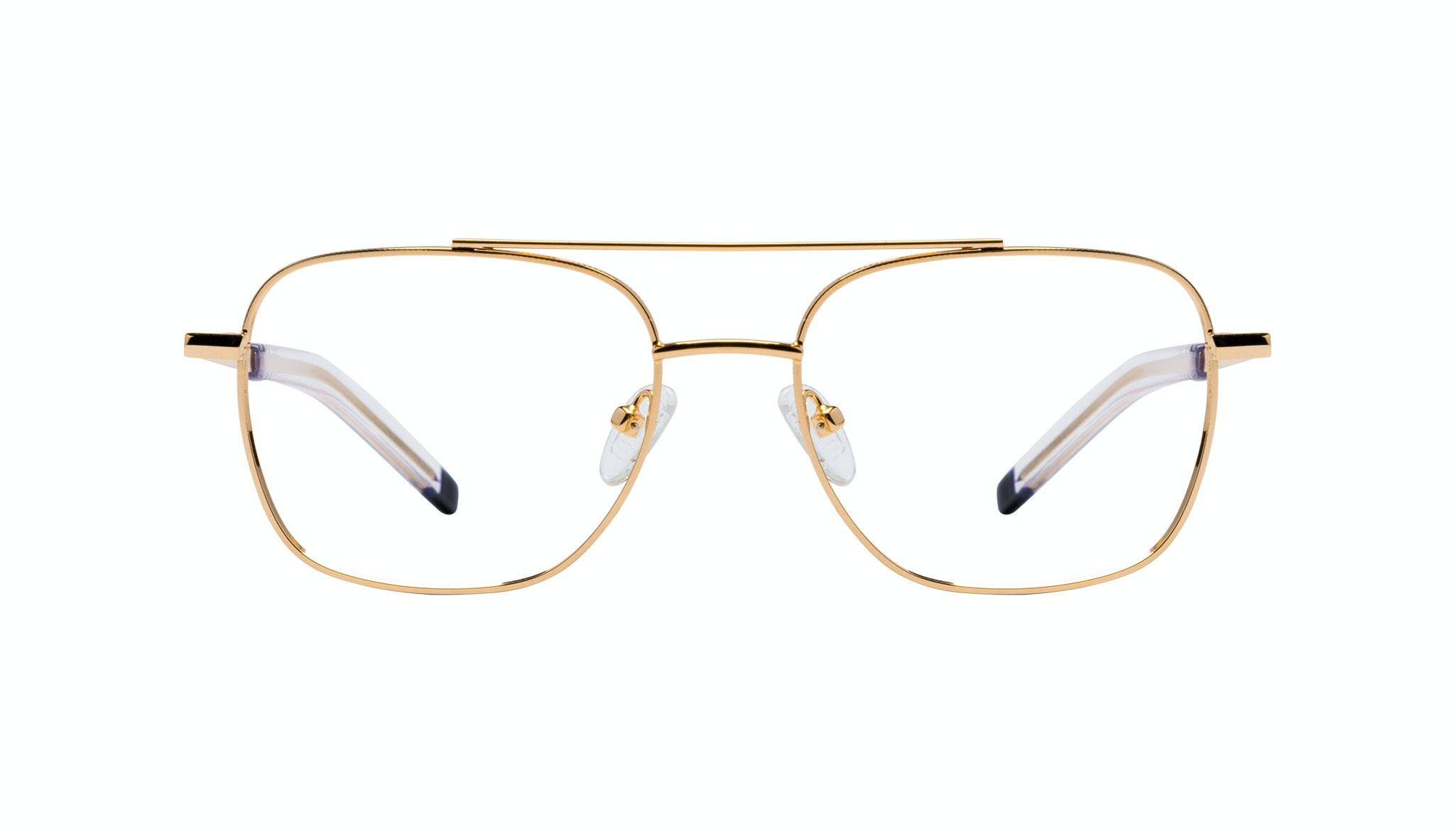 Affordable Fashion Glasses Aviator Eyeglasses Men Drift Gold