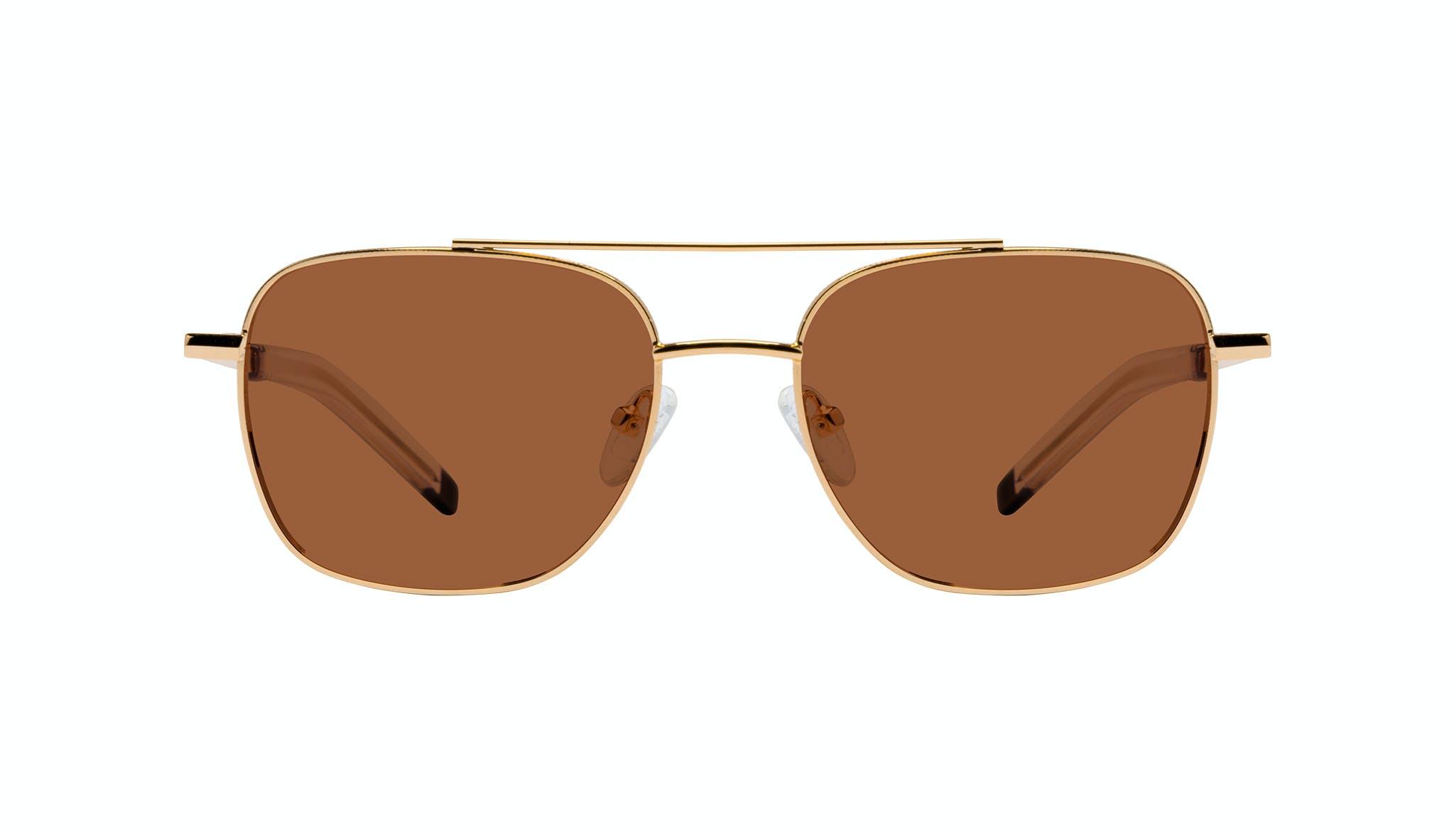 Affordable Fashion Glasses Aviator Sunglasses Men Drift Gold